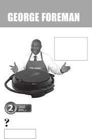 george foreman electric grill grp106qpgp user guide