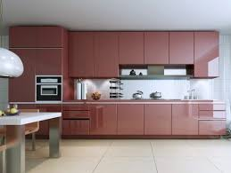 Glossy Kitchen Cabinets  Best High Glossy Kitchen Cabinet Design - Models of kitchen cabinets