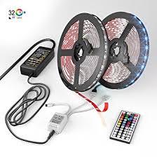 tape lights with remote amazon com new 2018 led strip lights kit 32 8ft 10m 300 leds