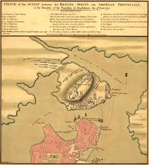 Boston Map 1776 by Anniversary Of The Battle Of Bunker Hill 1776