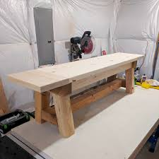 Diy Farmhouse Table And Bench Diy Truss Beam Farmhouse Style Outdoor Table And Benches