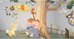 winnie the pooh bedroom top tips for painting a winnie the pooh mural my baba parenting blog