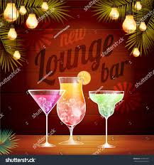 christmas cocktails vintage vintage poster lounge club stock vector 212565739 shutterstock
