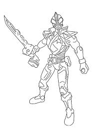 hd wallpapers power rangers super samurai coloring pages print