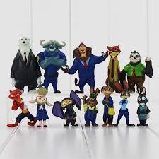 12pcs lot 4 7cm new movie zootopia cartoon utopia action figure