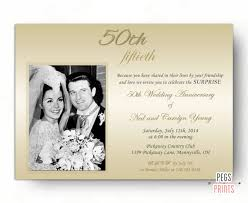 50 wedding anniversary invitations 50 wedding anniversary