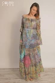 fred sabatier robe longue col bardot elisa cavaletti maud boutique