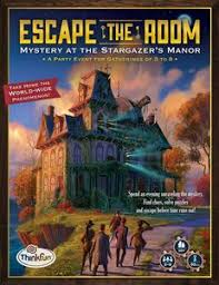 Free Online Games Escape The Room - escape the room mystery at the stargazer u0027s manor board game