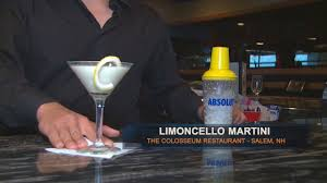 martini limoncello wicked bites drink of the week the colosseum restaurant salem