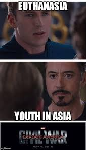 Asia Meme - cap sees what you did there tony imgflip