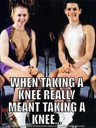 Tonya Meme - when taking a knee rebrn com