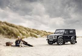 vintage land rover ad overfinch unveils celebatory 40th anniversary land rover defender