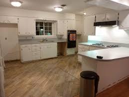 kitchen gray slate floor tile gray green kitchen cabinets island