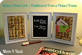 diy wine cork and chalkboard mom 4 real