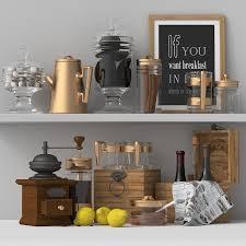 3d model kitchen set 06 cgtrader