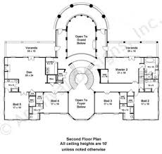 floor plan doneraile mansion floor plans luxury home plans 2nd