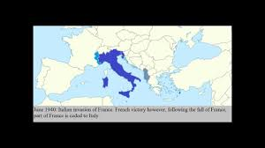 Map Of Europe During Ww2 by Italy During Ww2 Europe Youtube