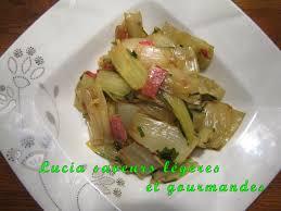 cuisiner le vert des blettes poêlée de cotes de blettes à la provençale lucia saveurs légères