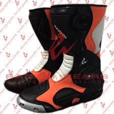 red motorbike boots racing wears repsol motorbike racing leather boots racing wears