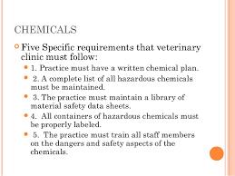 Osha Chair Requirements Osha And Veterinary Medicine