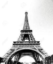 paris eiffel tower drawing eiffel tower in paris drawn in pencil