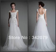 online get cheap flowing wedding dresses aliexpress com alibaba