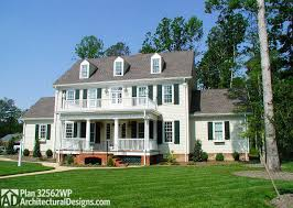 Brick Colonial House The Interior Master Architectural Planning Styles