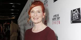 Frances Conroy - what is the deal with american horror story star frances conroy s