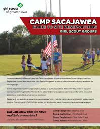 camp sacajawea site reservation scouts by scouts of