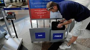 carry on fee flying a budget airline for the holidays beware the baggage fees
