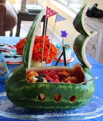my gra 8 life how to create a watermelon pirate ship