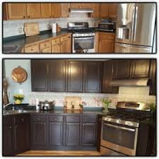 upcycled kitchen ideas general finishes java gel stain kitchen cabinets fanti