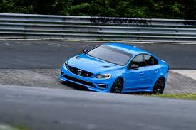 volvo race car volvo s60 polestar sets nürburgring four door sedan lap record