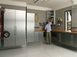 interior garage ideas vesmaeducation com grey wall combined with white ceramics floor luxury car garage plans with iron cabinet can add