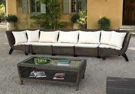 canapé résine tressée meubles de jardin domino 15 photos
