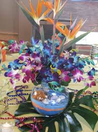 luau table centerpieces 19 best luau tables images on flower