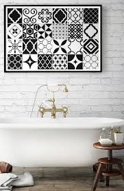 Sticker For Tiles Kitchen - vintage bilbao peel and stick smart tiles especially designed for