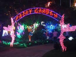christmas lights hunter valley gardens pokolbin nsw australia