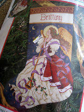 dimensions needlepoint kit of tidings