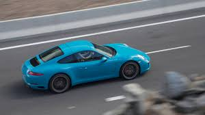 miami blue porsche gt3 rs 2017 porsche 911 carrera review with price horsepower and photo