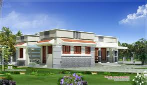 single floor contemporary house design kerala home building plans