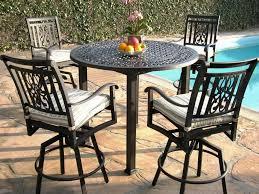 patio bar height dining set furniture outdoor patio bar furniture height dining sets the