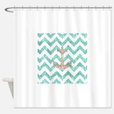 Nautical Anchor Shower Curtain Anchor Shower Curtains Cafepress