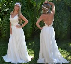 summer wedding dresses discount 2014 boho chiffon summer wedding dress embroidered