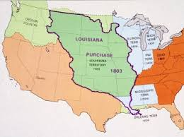 usa map louisiana purchase louisiana purchase facts summary history