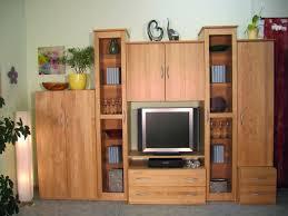 massivholz wohnwand