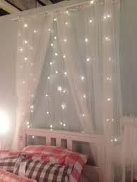 bed tent with light fairy lights netting dekorasyon pinterest fairy lights and