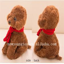valentines day stuffed animals kawaii dog plush doll poodle stuffed animals for s
