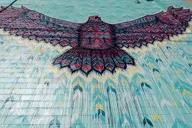 oklahoma city mural guide uncovering oklahoma red tail talk by jason pawley photo by dennis spielman