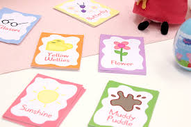 fun peppa pig party games free printables party delights blog